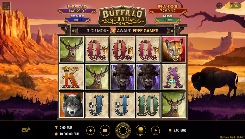 Buffalo Trail Slot by BF Games