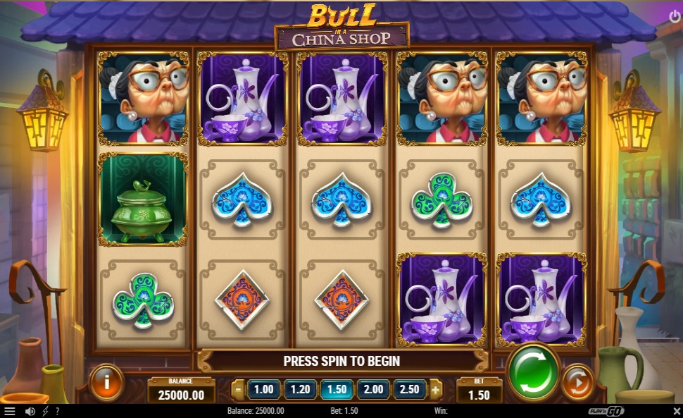 Bull in a China Shop - Slot