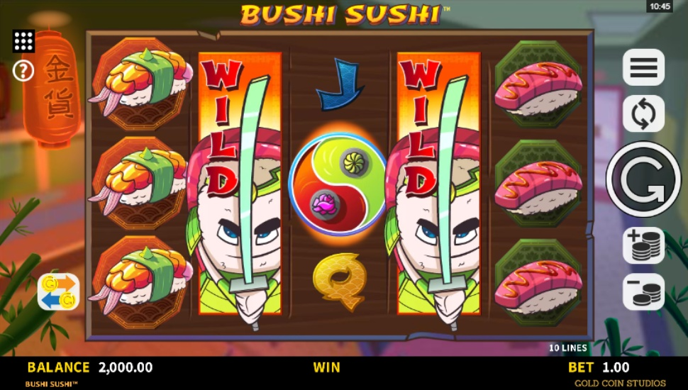 Bushi Sushi - Bonus Features