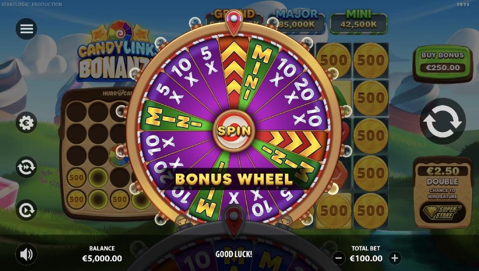 Candy Links Bonanza - Bonus Features