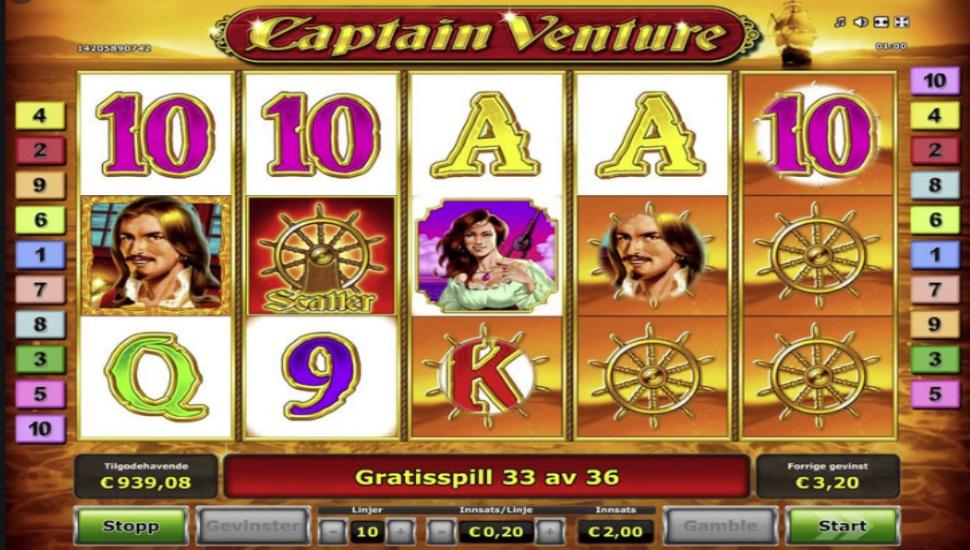 Captain Venture - Slot