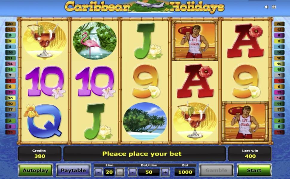 Caribbean holidays - Slot
