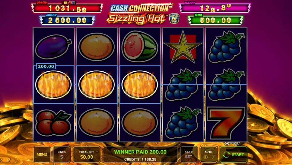 Cash Connection – Sizzling Hot - Slot