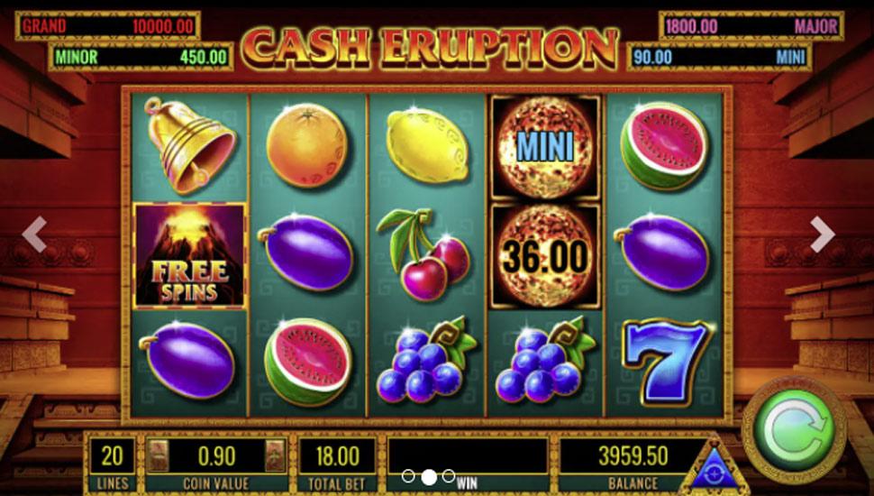 Cash Eruption - slot
