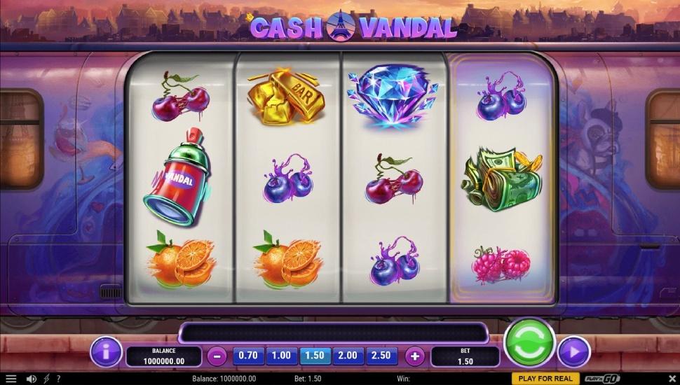 Cash Vandal - Slot