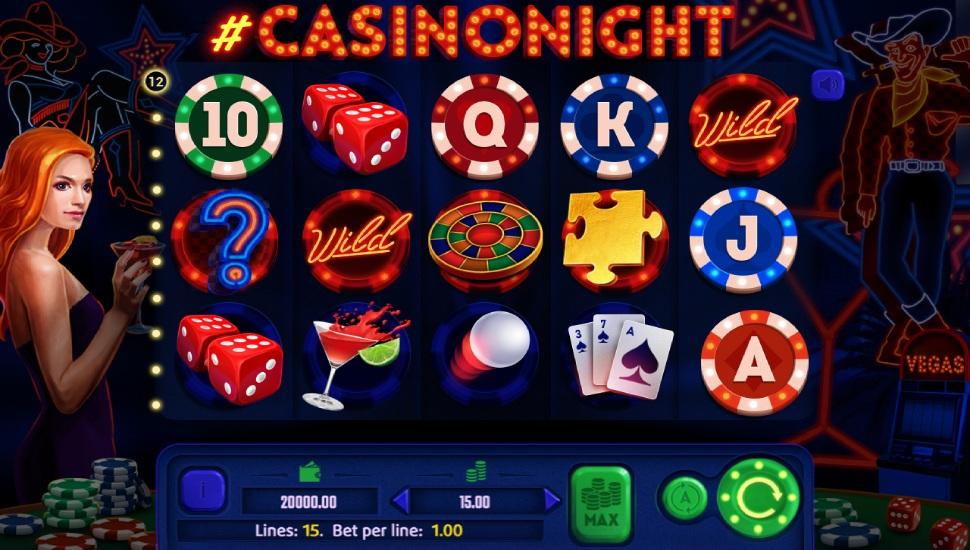 #Casinonight - Slot