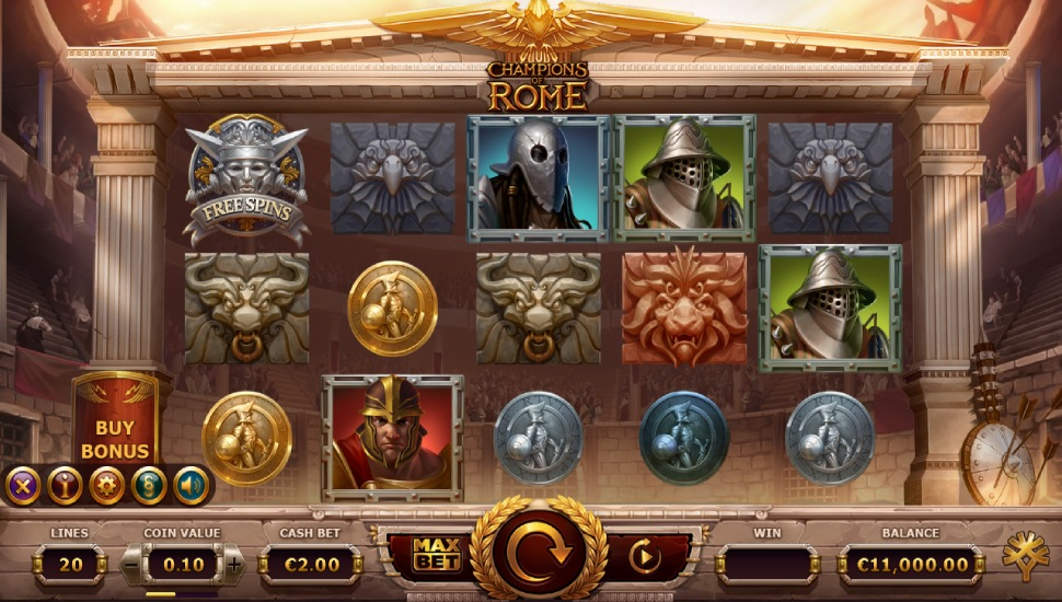 Champions of Rome - Slot