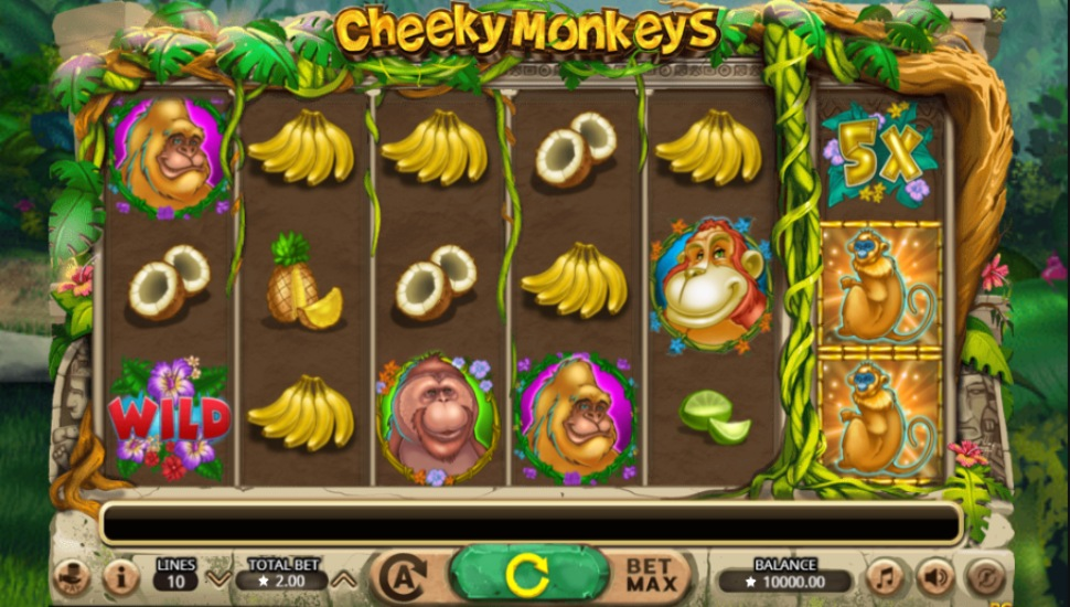 Cheeky Monkeys - Slot