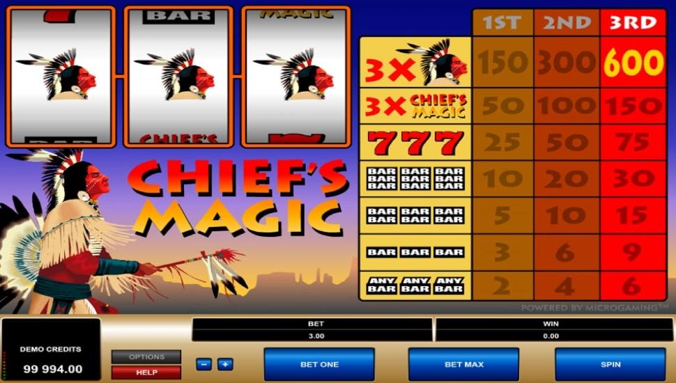 Chief's magic - Slot