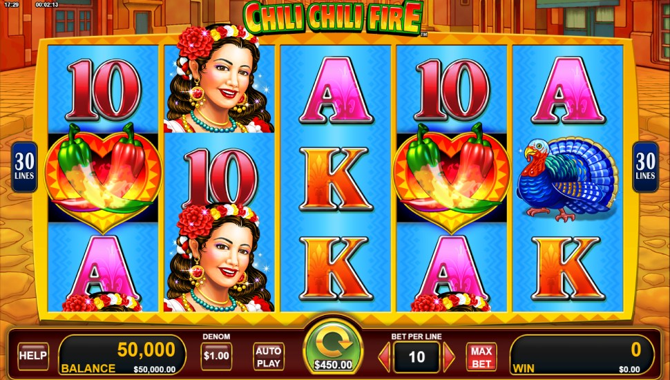 Chili Chili Fire - Slot