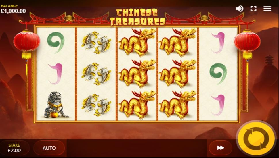 Chinese treasures -Slot