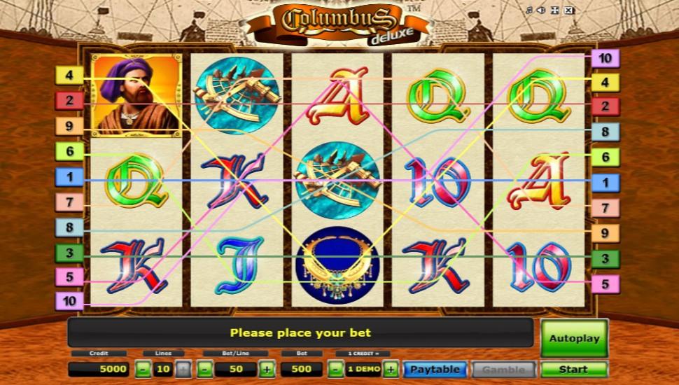 Columbus Deluxe - Slot
