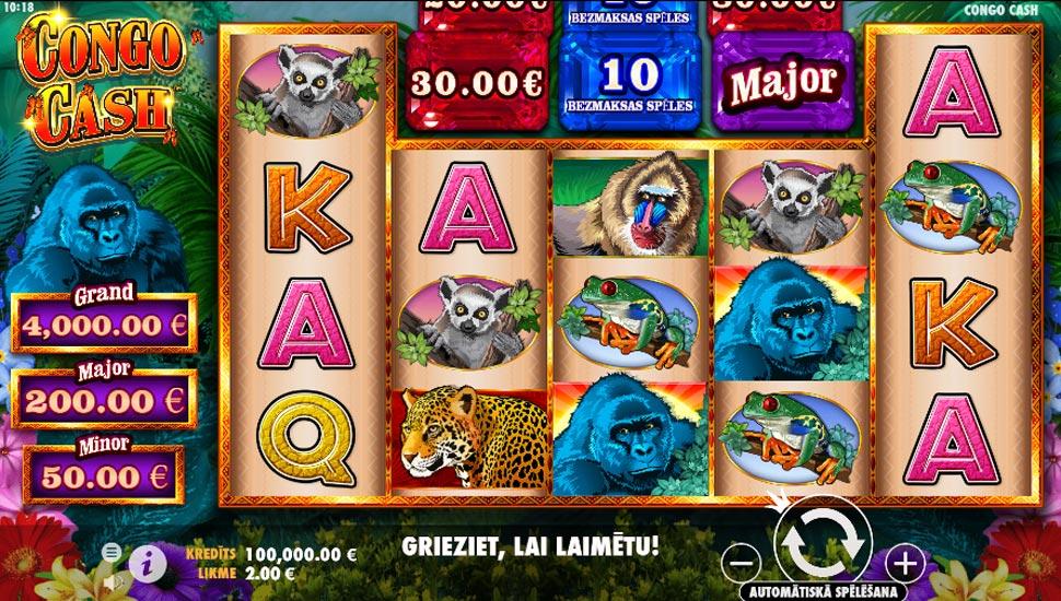 Congo Cash - Slot