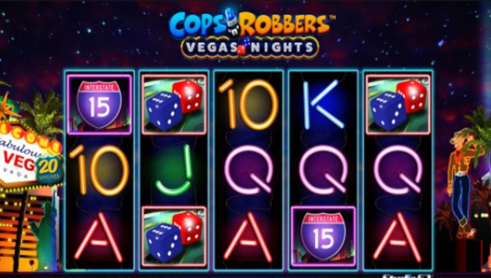 Cops 'n' Robbers Vegas Nights - Slot