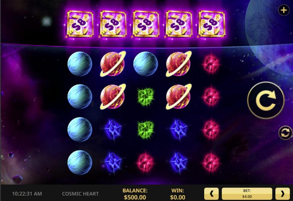 Cosmic Heart - Slot
