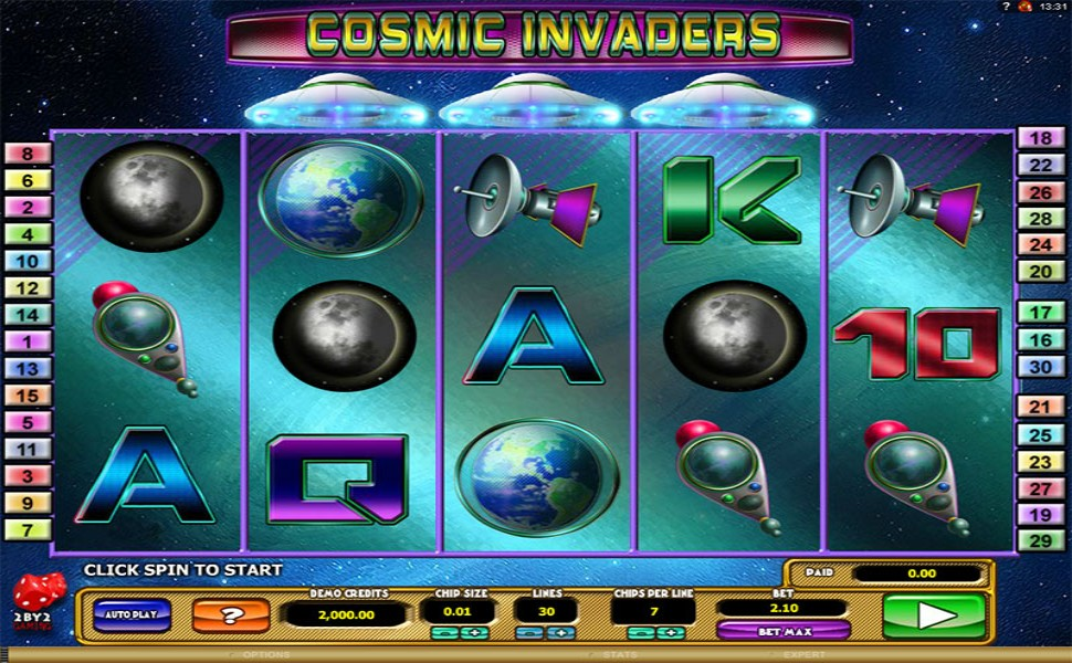 Cosmic Invaders - Slot