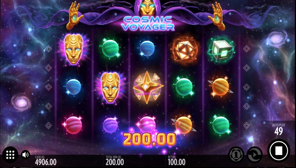 Cosmic Voyager - Game Symbols