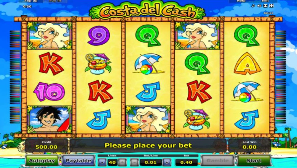 Costa del Cash - Slot