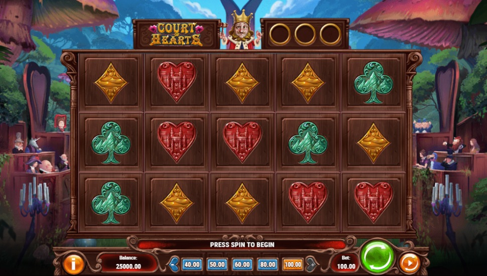 Court of Hearts - Slot