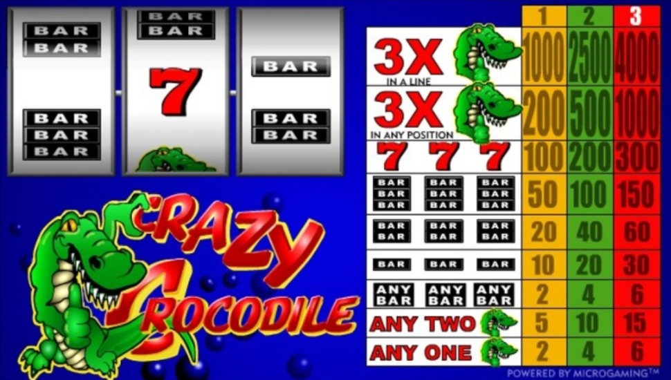Crazy Crocodile - Slot