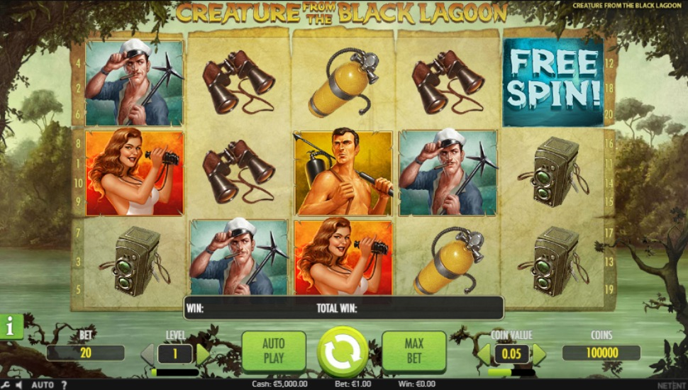 Creature from the Black Lagoon - Slot