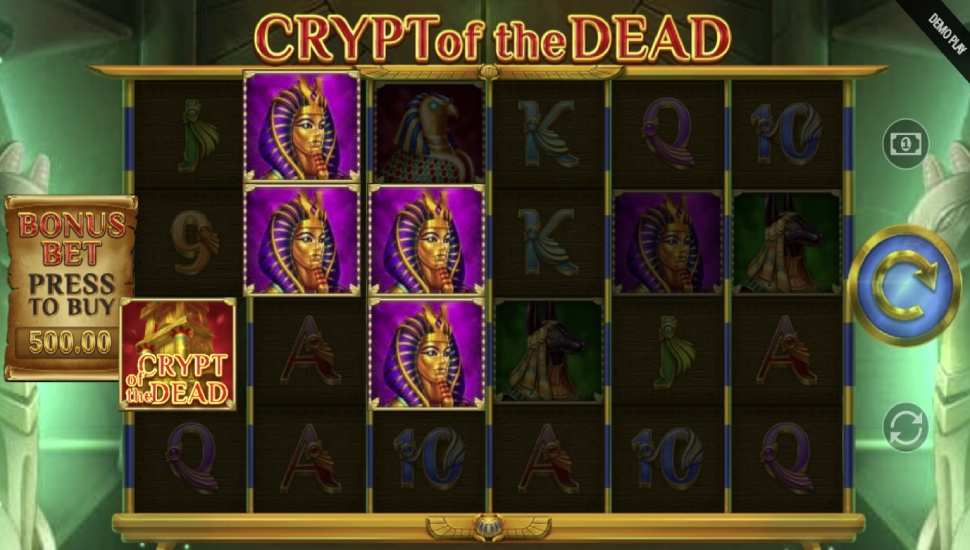 Crypt of the Dead - Slot