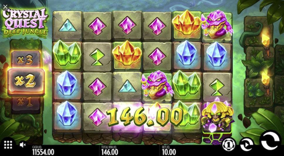 Crystal Quest: Deep Jungle - slot