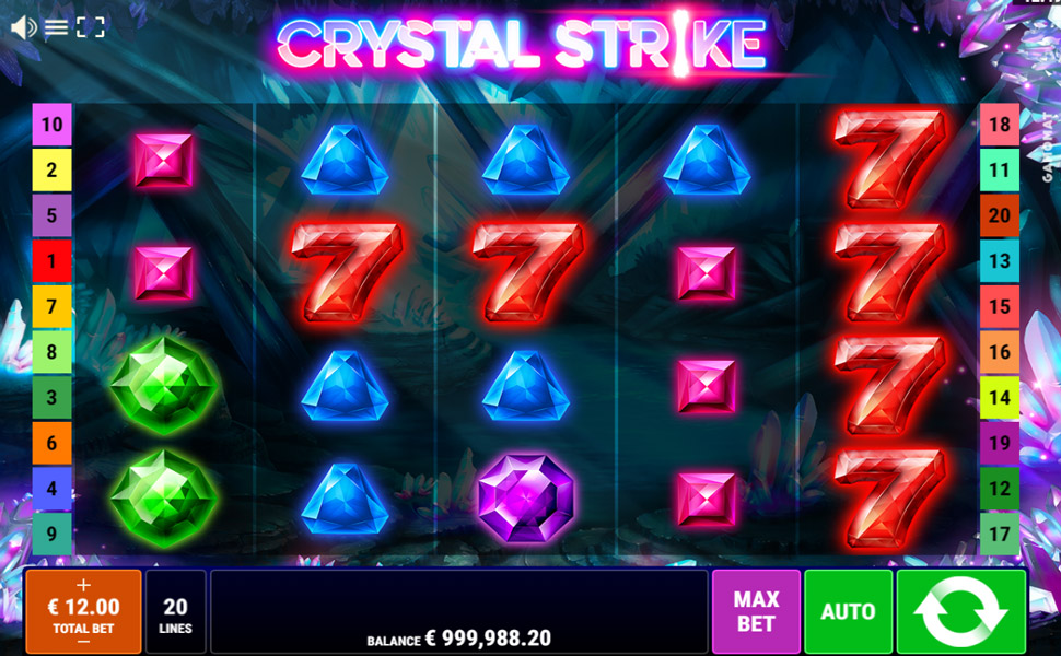 Crystal Strike - Slot