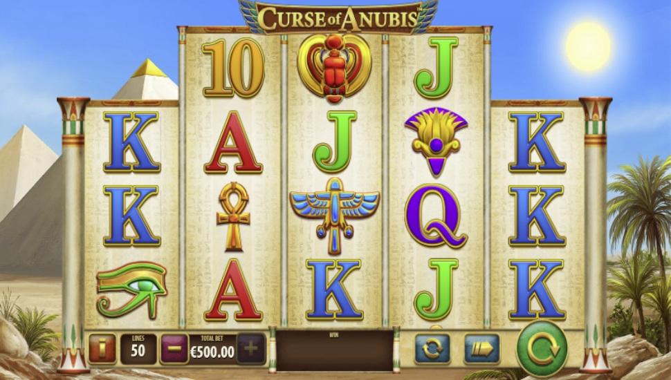 Curse of Anubis - Slot