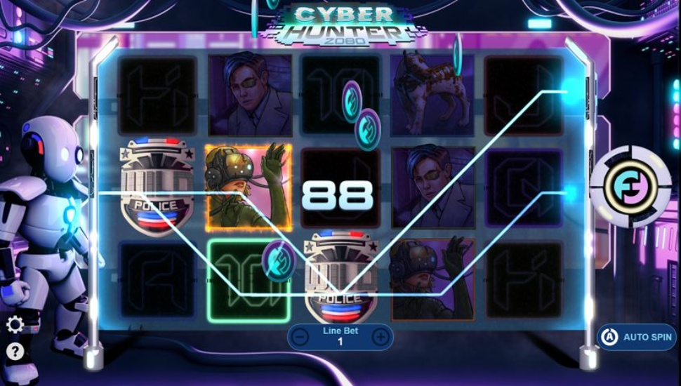 Cyber Hunter 2080 - Bonus Features