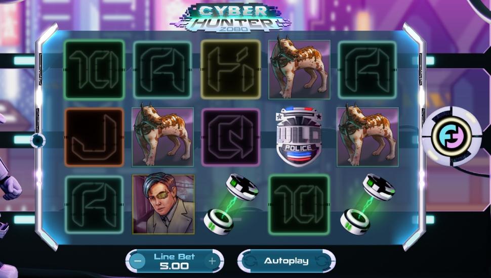 Cyber Hunter 2080- Slot
