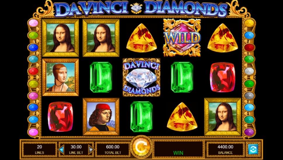 Da Vinci Diamonds - Slot