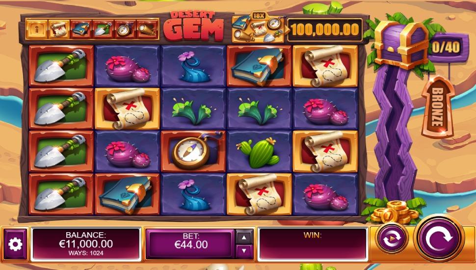 Desert Gem - Slot