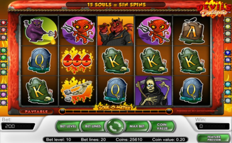 Devil's Delight - Slot