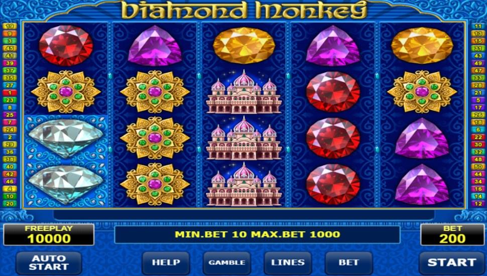 Diamond monkey  - Slot