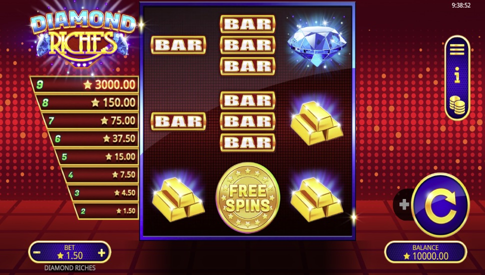Diamond Riches - Slot