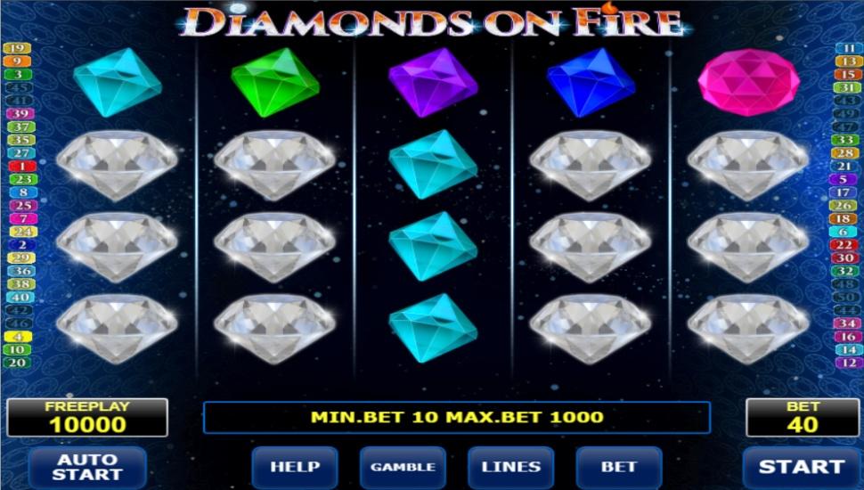 Diamonds on Fire - Slot