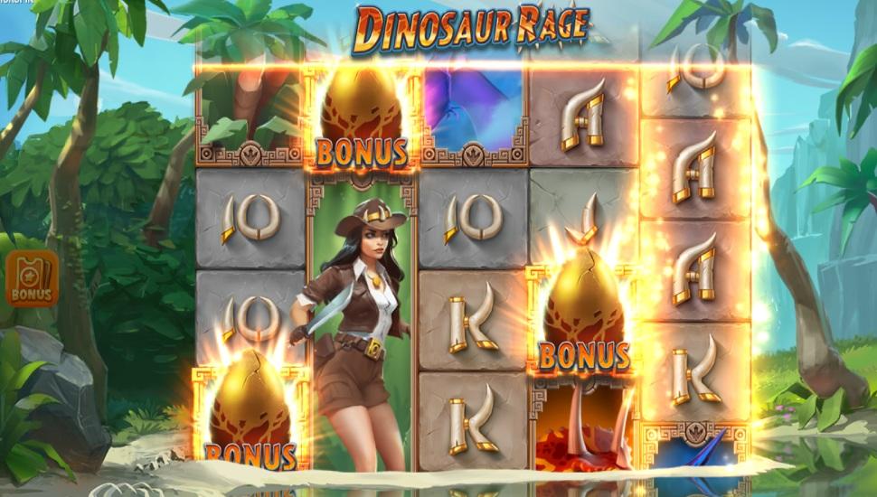 Dinosaur Rage - Bonus Features