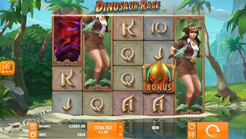 Dinosaur rage - Slot