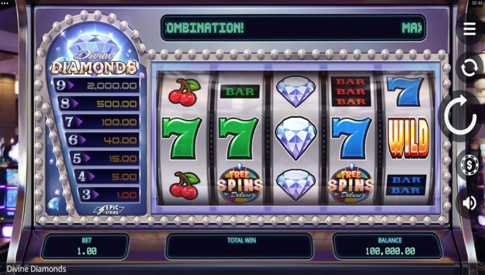 Divine Diamonds - Slot