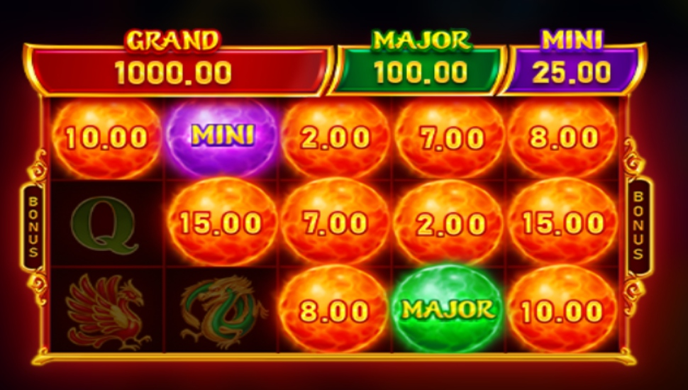Divine Dragon: Hold and Win - Bonus Features