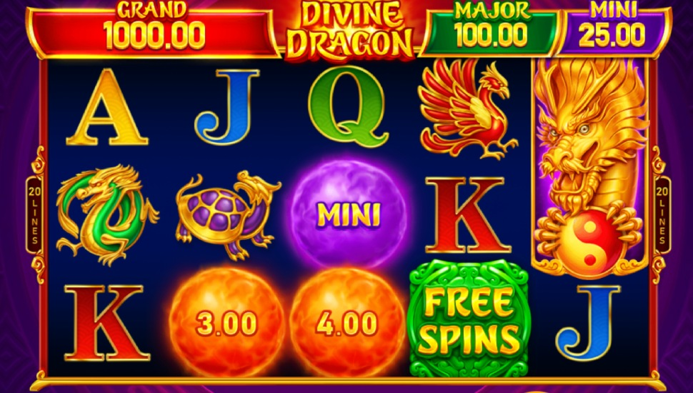 Divine Dragon Hold and Win - Slot