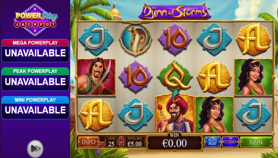 Djinn of storms - Slot