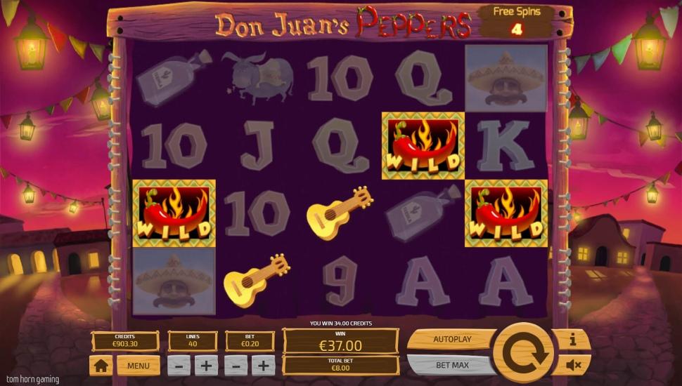 Don Juan's Peppers - Bonus Features