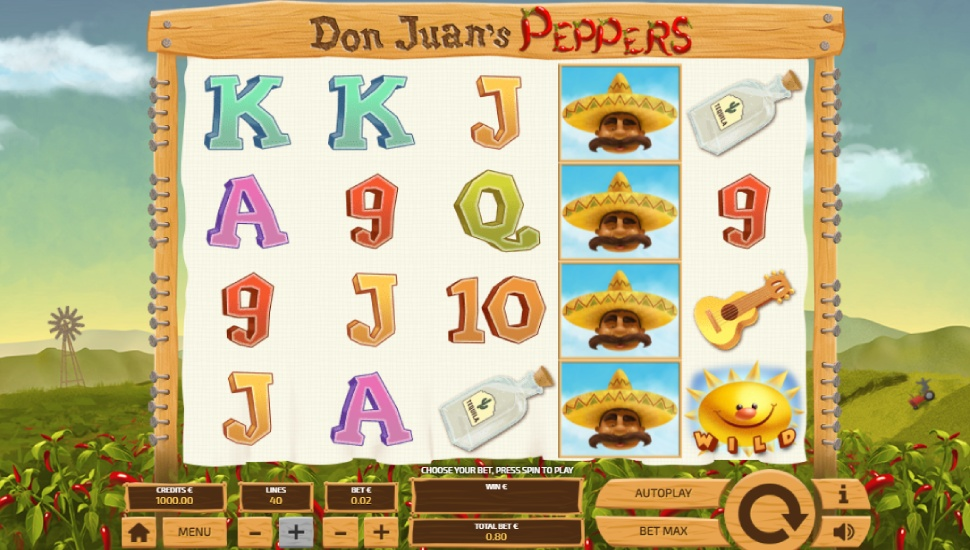 Don Juan's Peppers - Slot