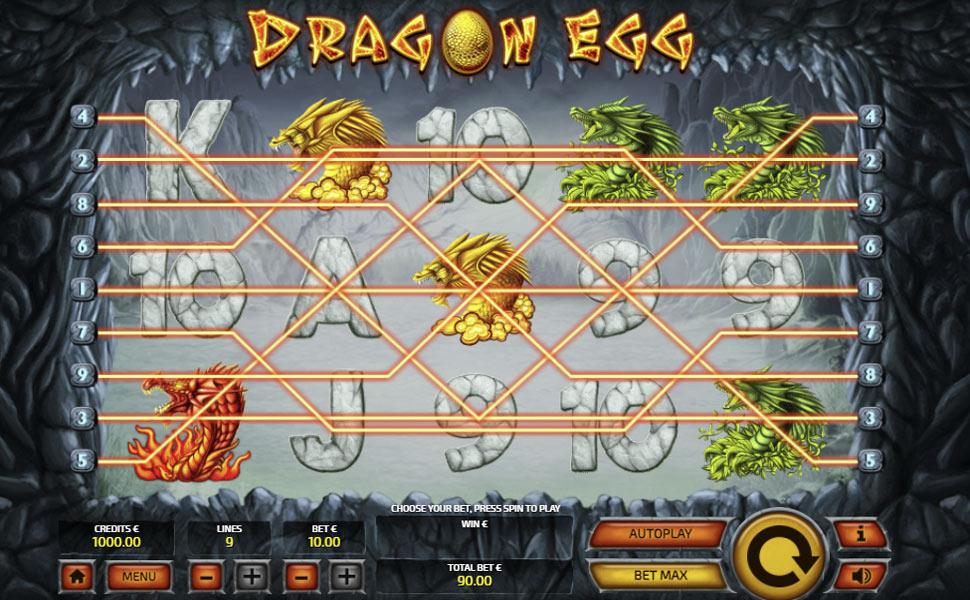 Dragon egg - slot