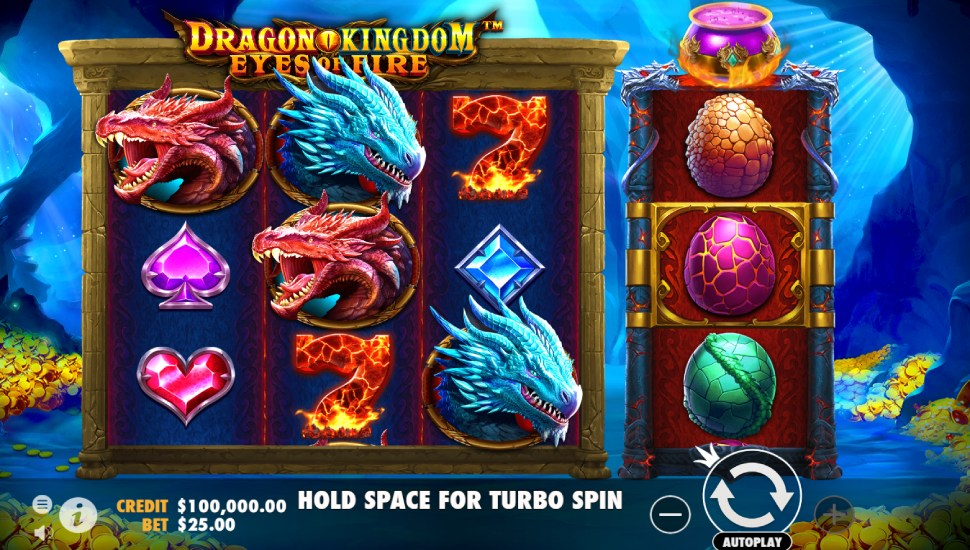 Dragon Kingdom – Eyes of Fire - Slot
