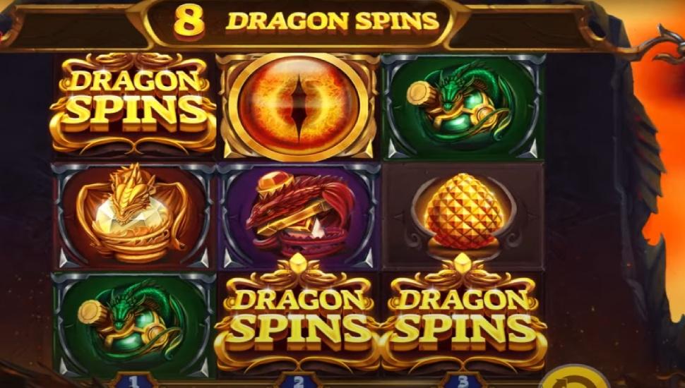 Dragon's Fire InfiniReels - Bonus Features