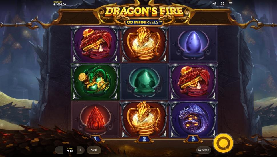 Dragon's Fire InfiniReels - Slot
