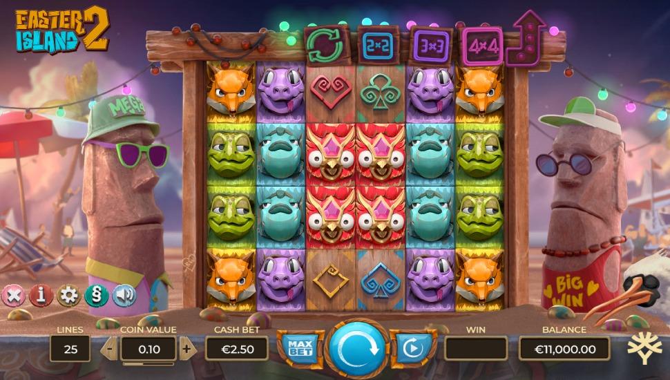 Easter Island 2 - Slot